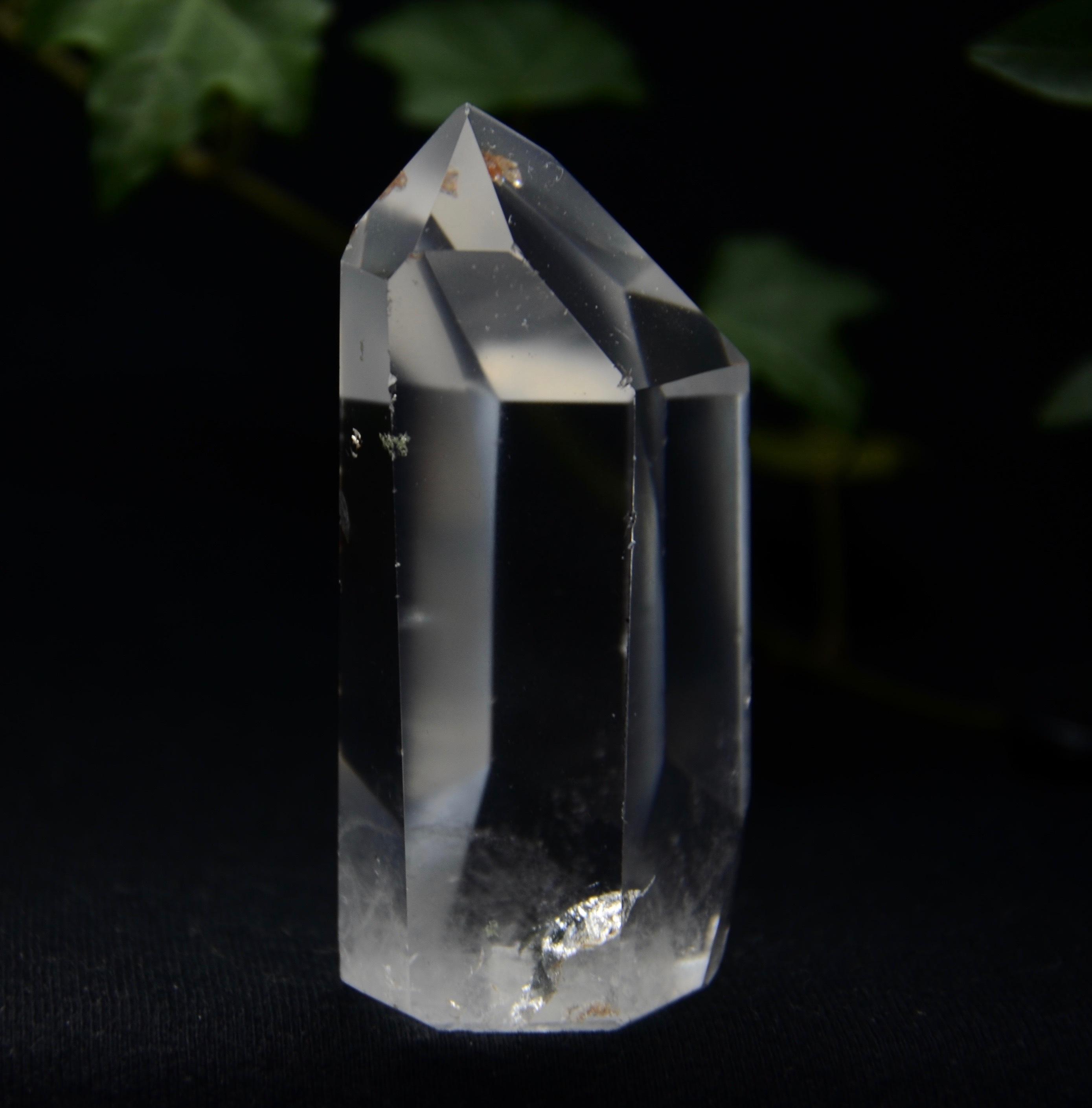 カーサクリスタルポイントミニミニ貫入水晶入り♪  97.5g a0080