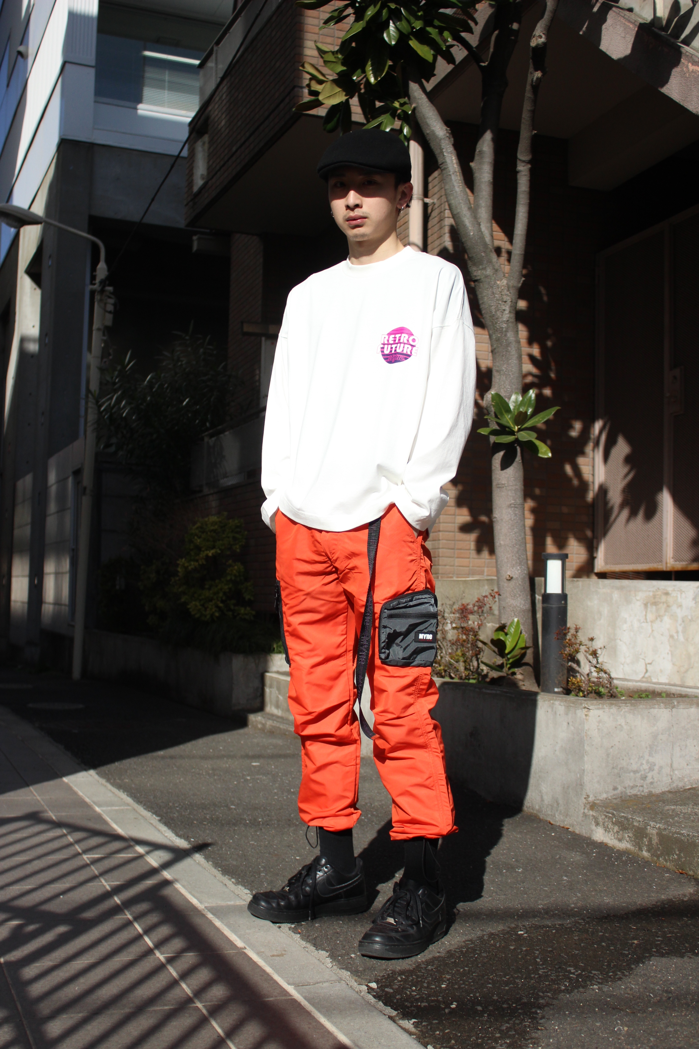RETRO FUTURE L/S T-shirt / WHITE - 画像3
