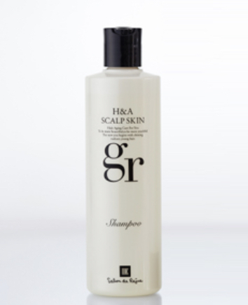 豊かな髪へ H&Aスカルプスキンgrシャンプー