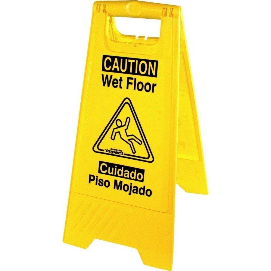 [Genuine Joe]Caution (フロアサイン)