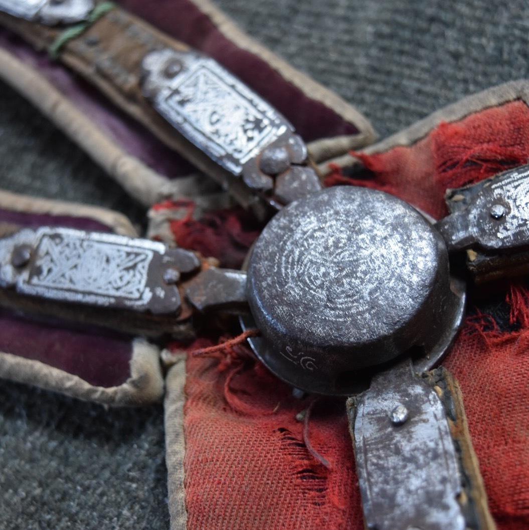チベット 遊牧民 銀象嵌 馬具