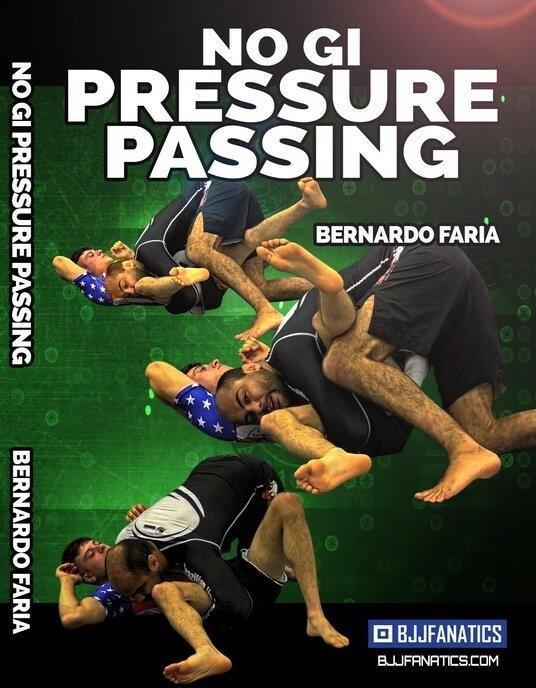ベルナルド・ファリア ノーギ プレッシャーパス DVD4枚セット|ノーギ教則DVD