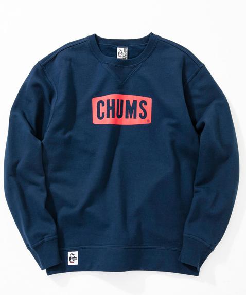 CHUMS(チャムス) Boat Logo Crew Top (ボートロゴクルートップ スウェット) Navy (ネイビー) CH00-1145