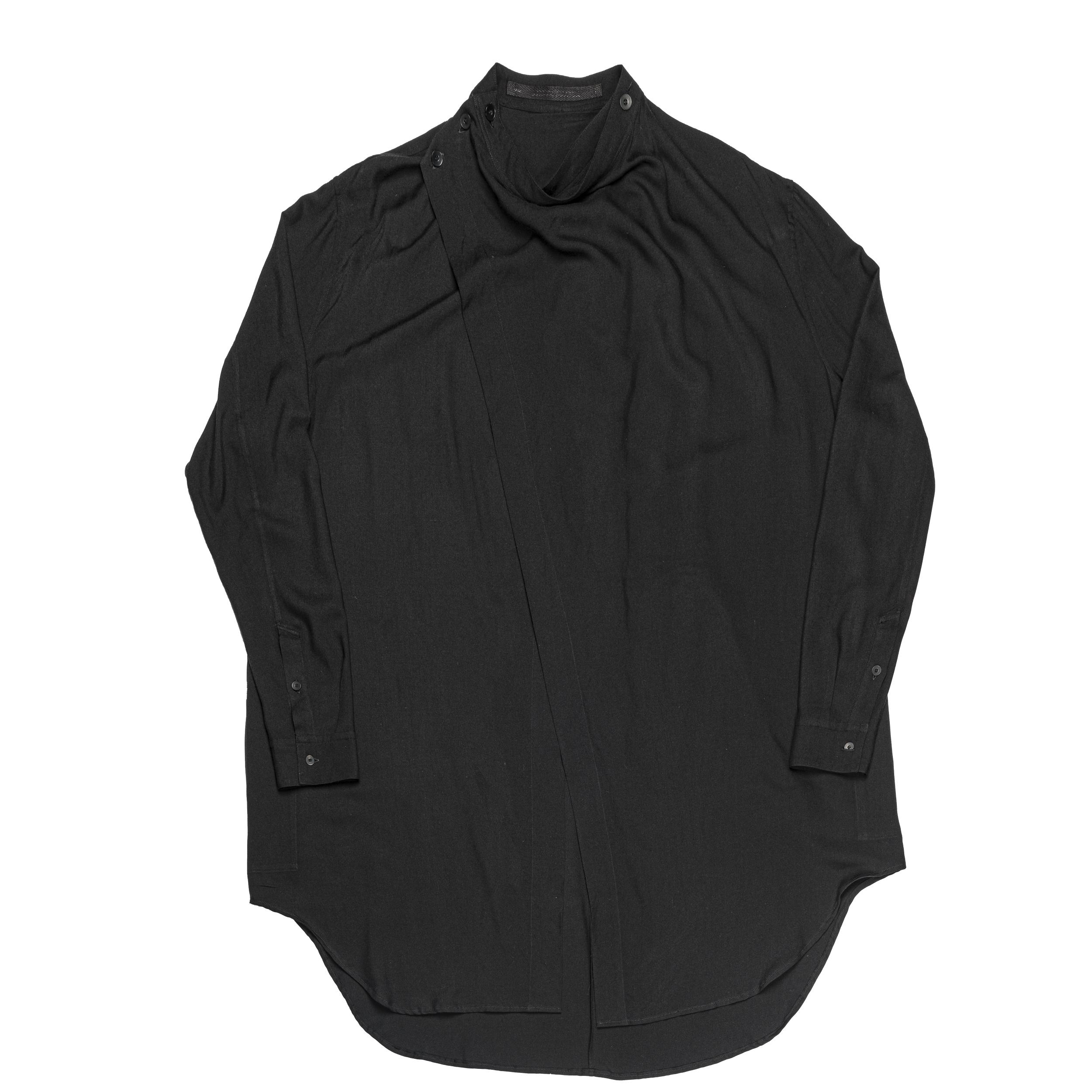 667SHM2-BLACK/ カバードシャツ
