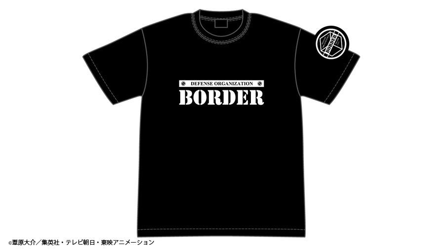 ワールドトリガー ボーダー蓄光Tシャツ / グルーヴガレージ