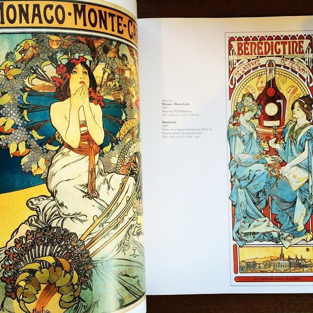 画集「Mucha: The Triumph of Art Nouveau」 - 画像2