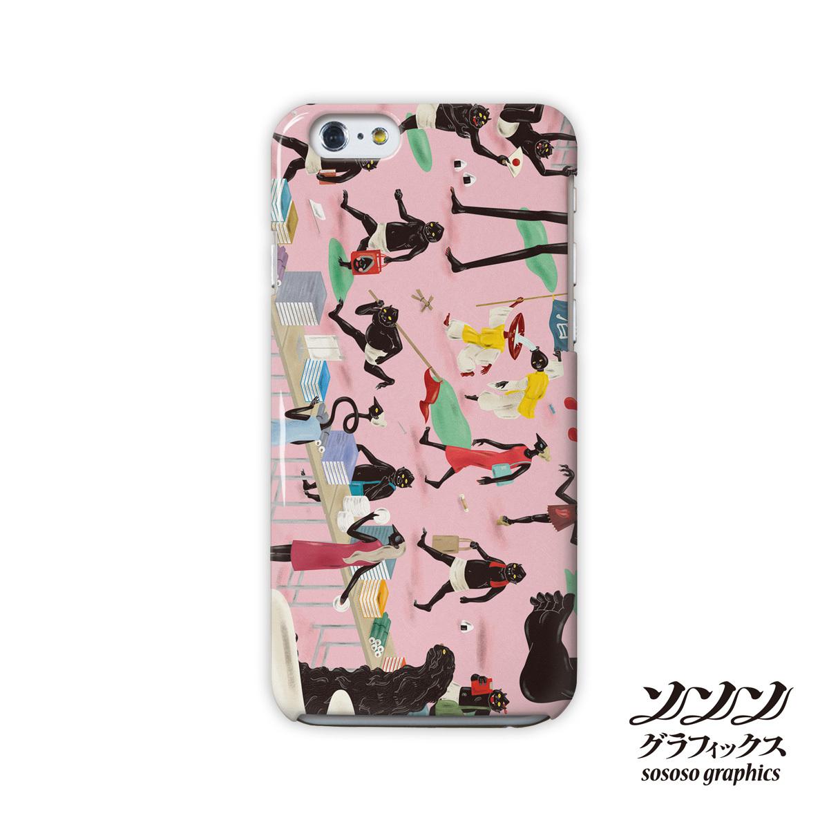iphone8 ハードケース おしゃれ iphone8 ハードケース シンプル iphone7 ケース かわいい ハード ようかい 妖怪本市/sososo graphics