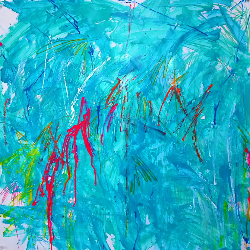 絵画 インテリア アートパネル 雑貨 壁掛け 置物 おしゃれ 抽象画 現代アート ロココロ 画家 : tamajapan 作品 : t-18