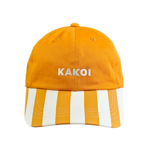 KAKOI Dad Cap ver.Stripe YELLOW