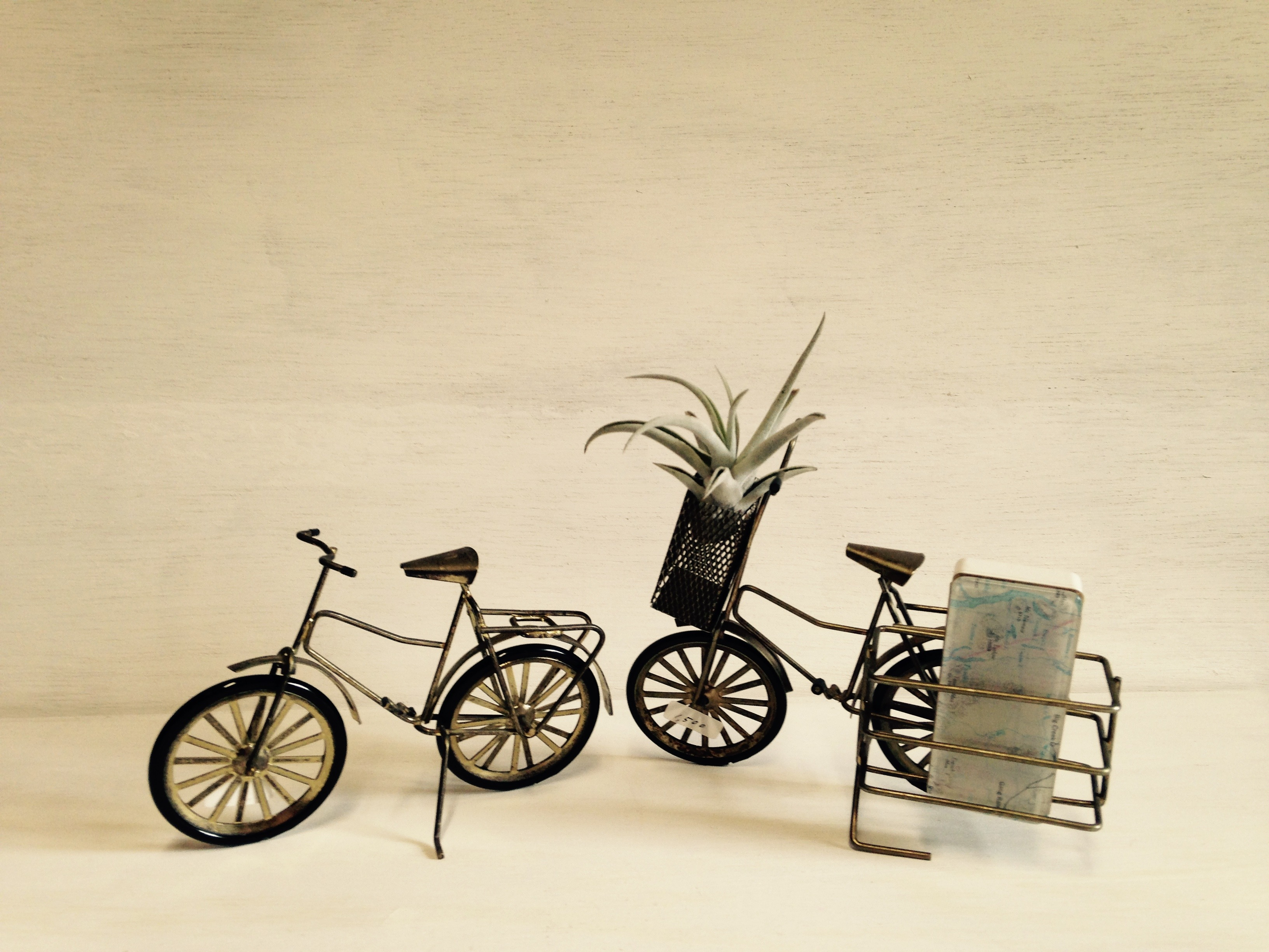 自転車オブジェ 2個セット