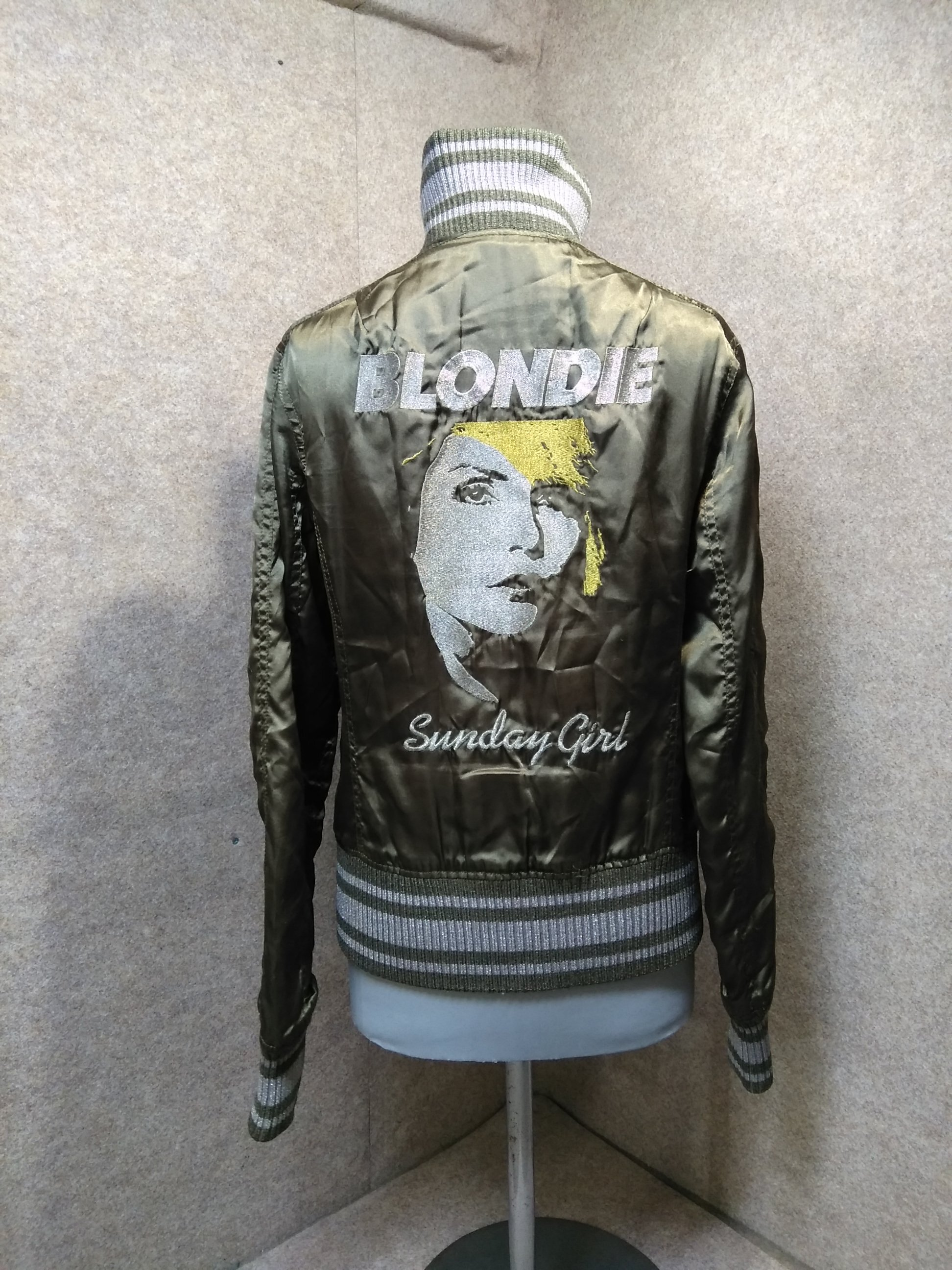 ヒステリックグラマー ジャケット Blondie オリーブ F mh277s