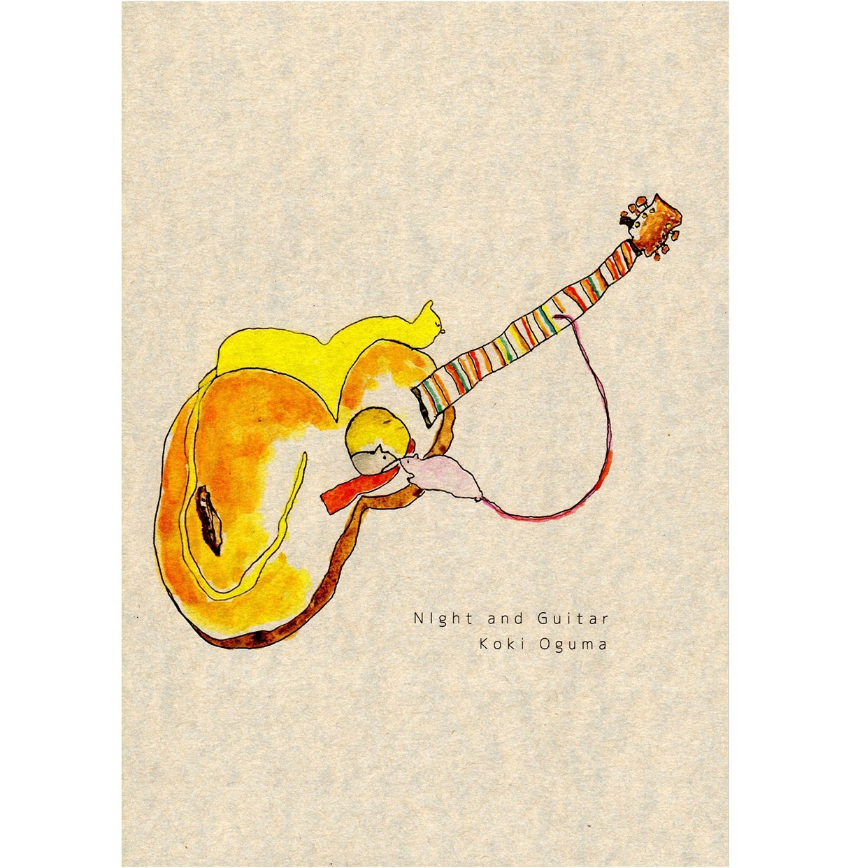Night and Guitar