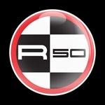 ゴーバッジ(★在庫処分★)(CD0394 - MINI R50 RED) - 画像1