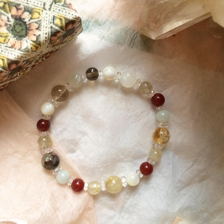 Ganesha ガネーシャgemstone bracelet