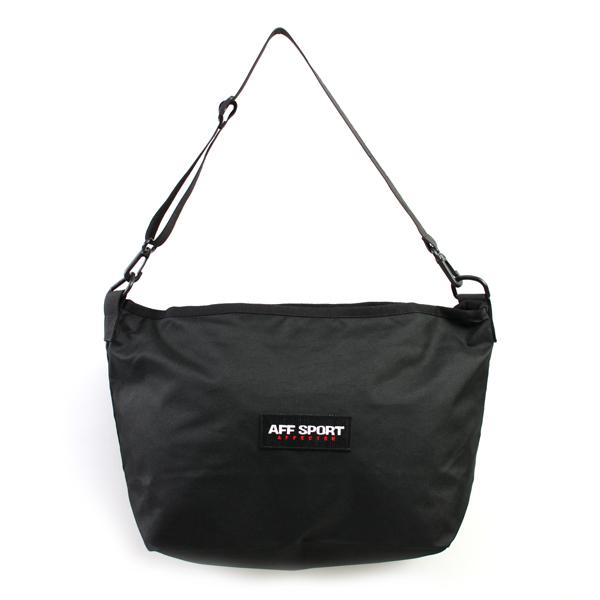 【AFFECTER | アフェクター】AFF SPORT BAG (Black)