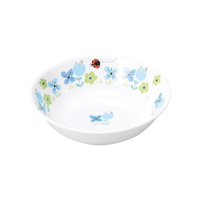 強化磁器 深小皿 ブルーメ・ブルー 【1159-1330】