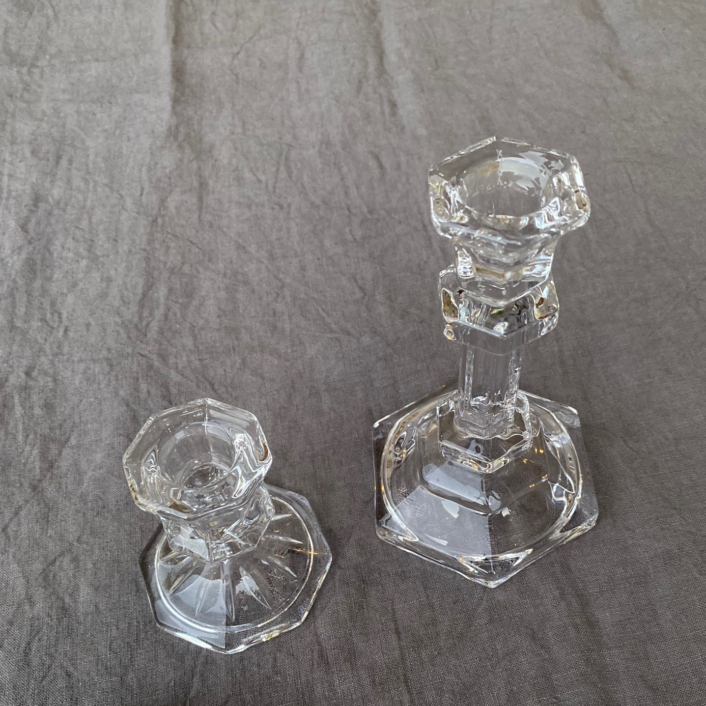 キャンドルスティック L( Glass )