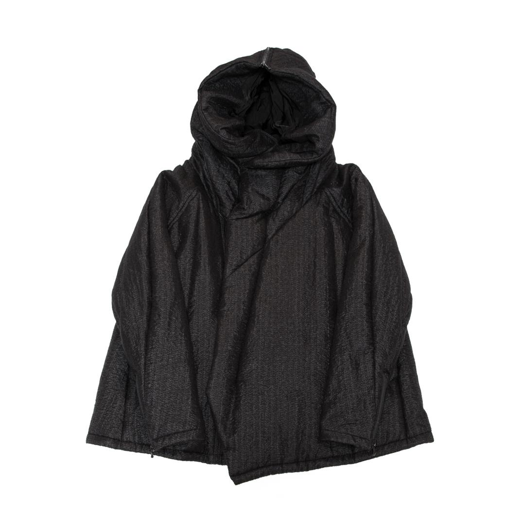 557BLM1-BLACK / スラッシングフーデットオーバージャケット