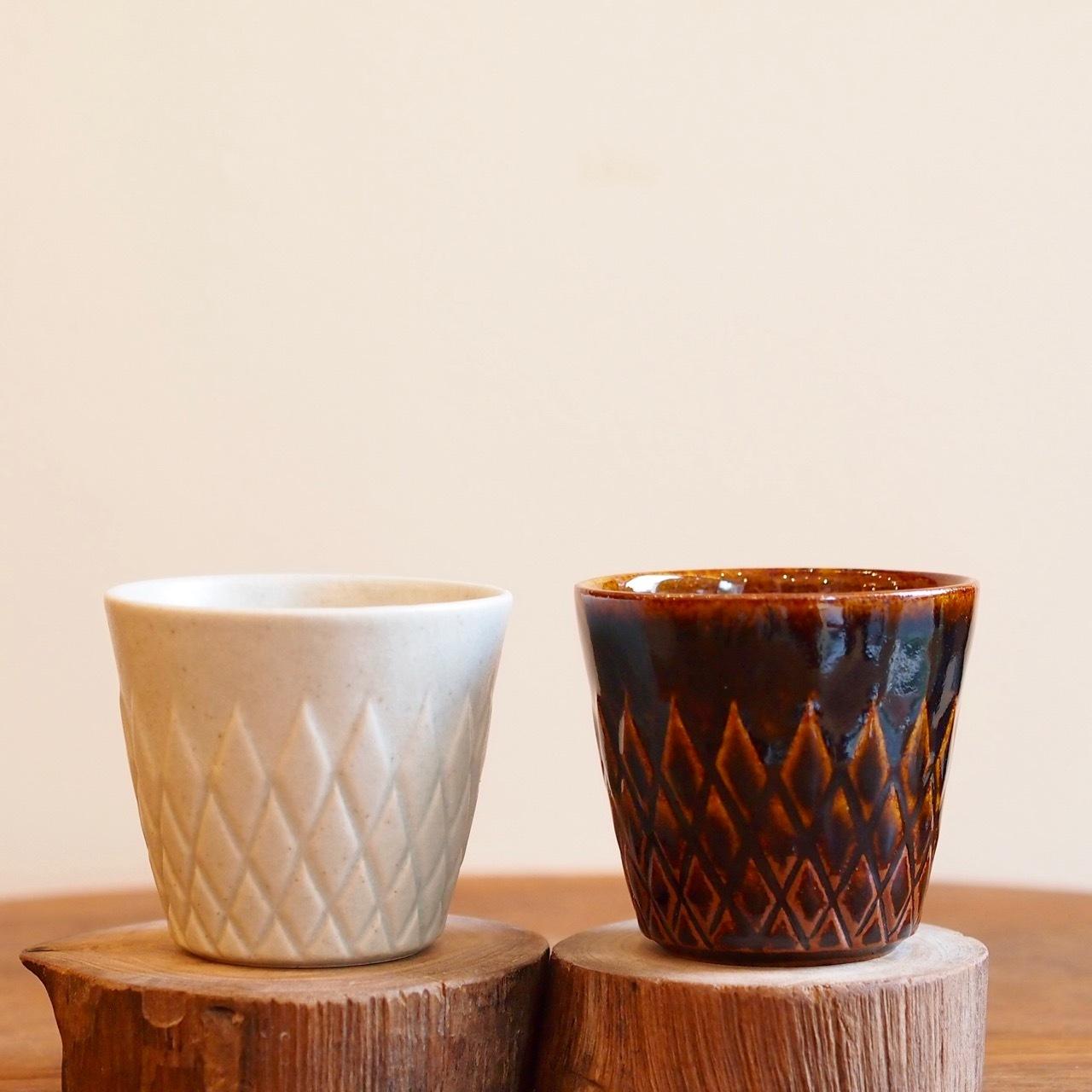 【若菜綾子】ダイヤ削りフリーカップ