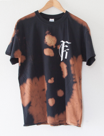【FIT FOR A KING】Snake T-Shirts (Bleach Dye)