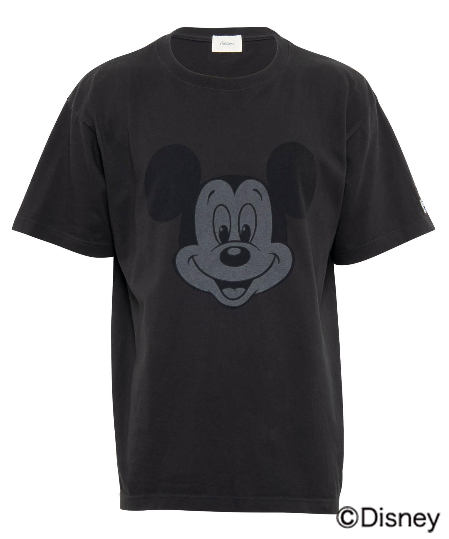 VINTAGE BIG FACE PRINT T-shirt - MICKEY MOUSE[REC409]