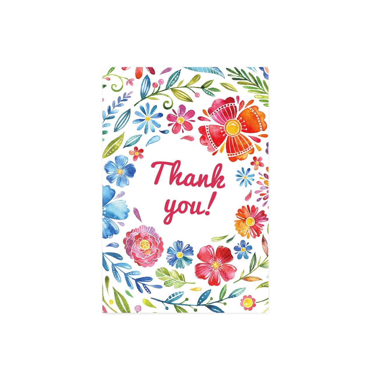 グリーティングカード | THANK YOU FLOWER