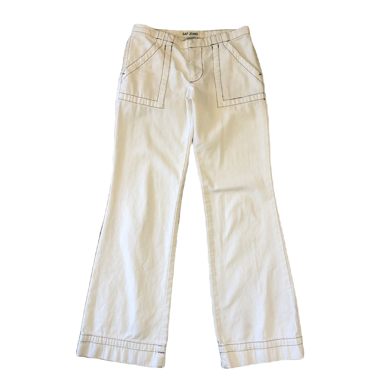 Old Gap White Flare Pants ¥5,800+tax