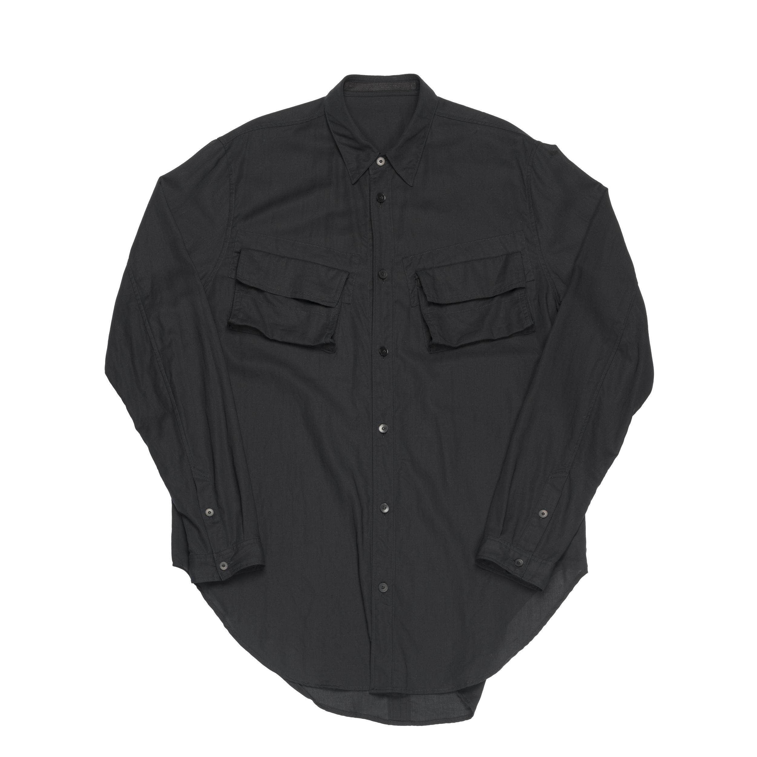 667SHM4-BLACK / ミリタリーシャツ