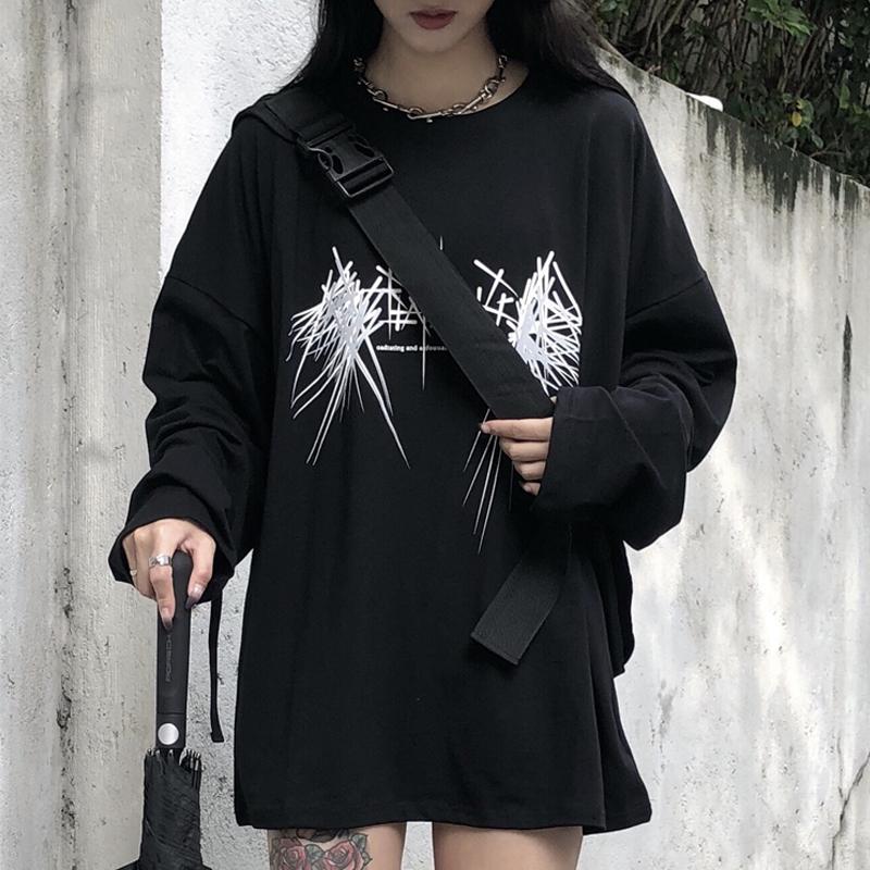 【tops】合わせやすいストリート系配色Tシャツ23028556