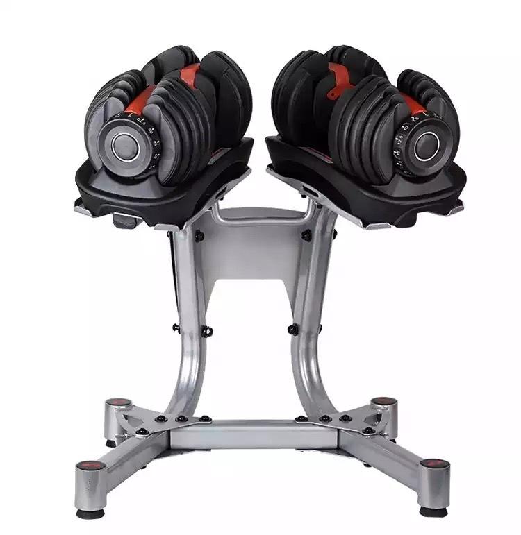 アジャスタブルダンベル 40kg ペア スタンドセット  CHPP01
