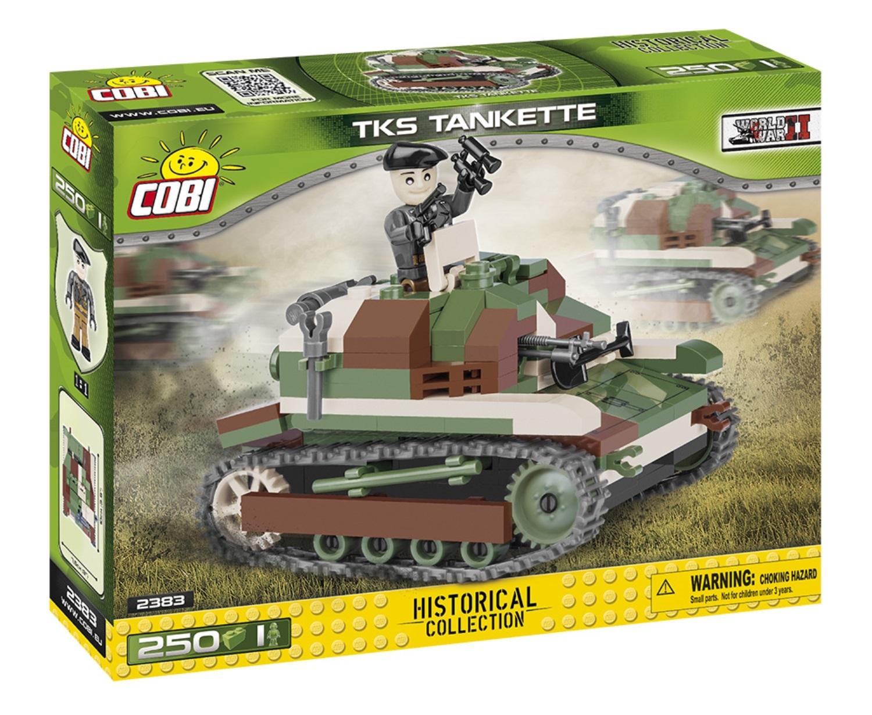 COBI #2383 TKS偵察用 豆戦車