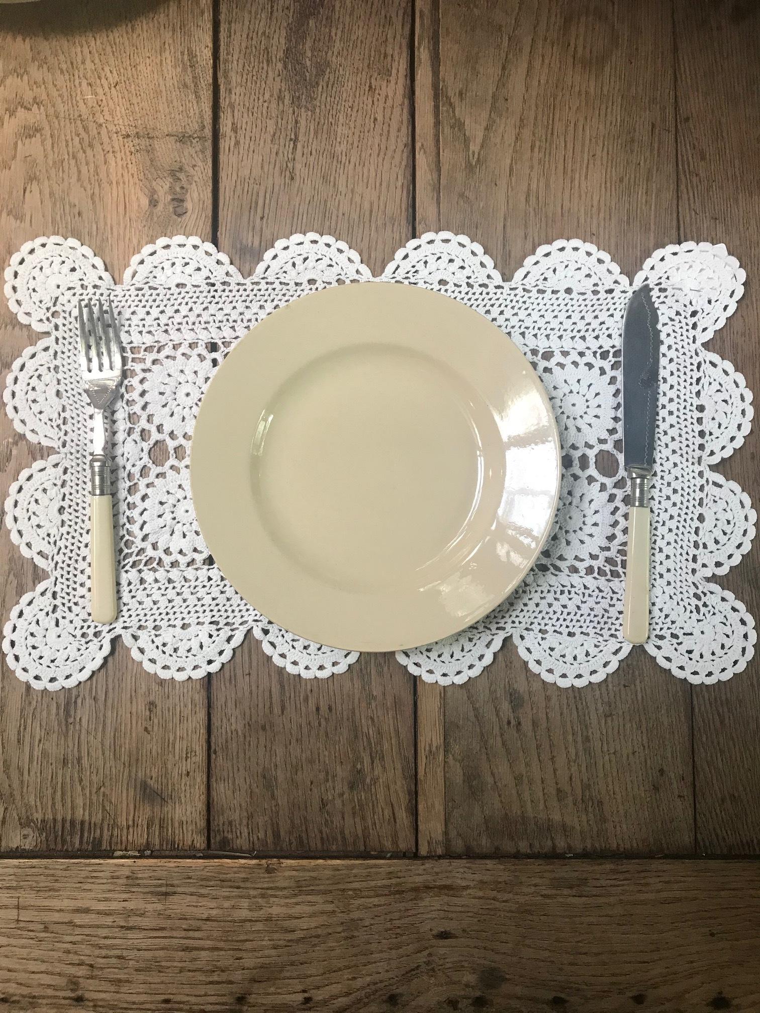 Boch Frères ベルギーアンティーク デザートプレート 皿E