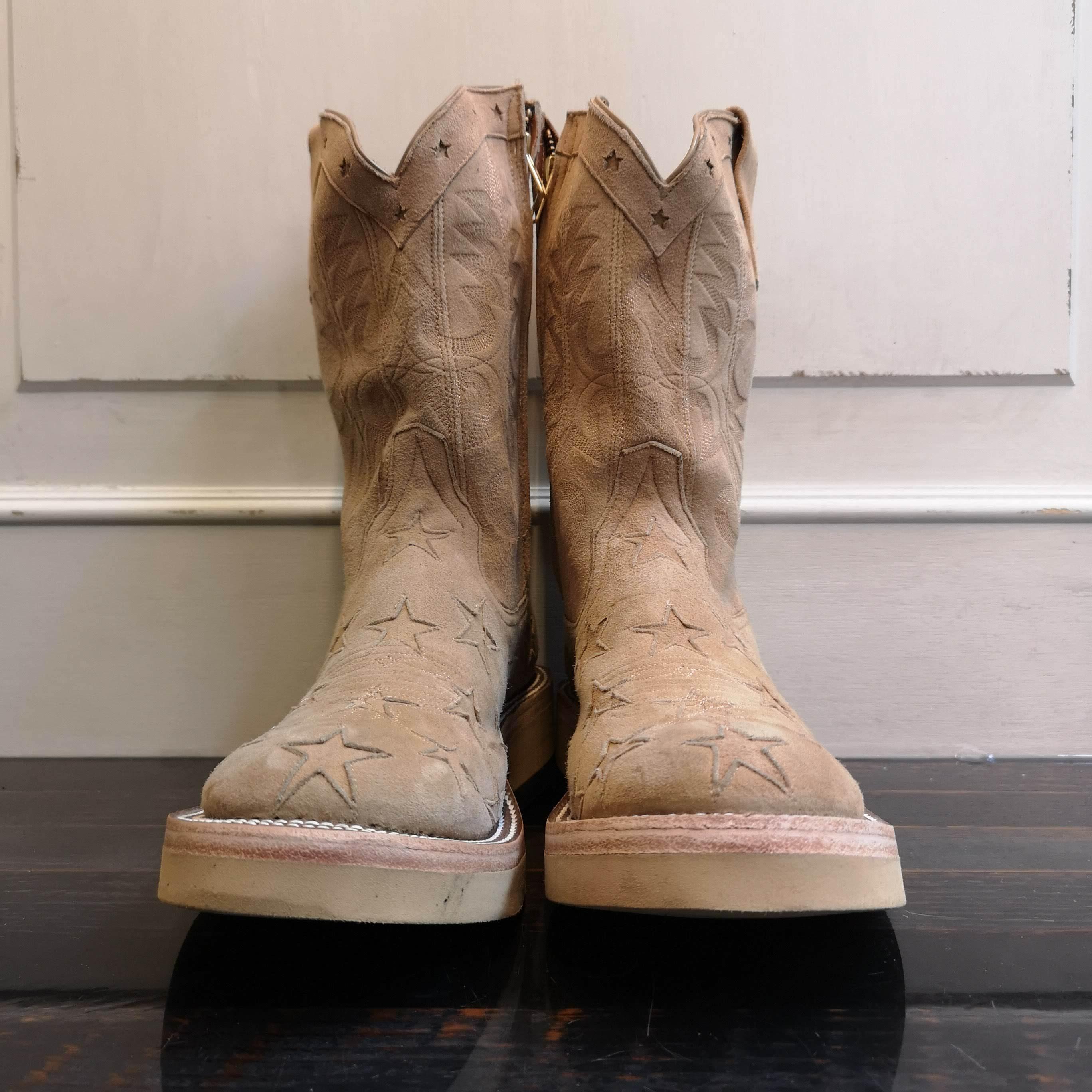 srf.0003 star & stripes roper boots.