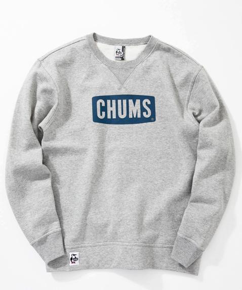 CHUMS(チャムス) Boat Logo Crew Top (ボートロゴクルートップ スウェット) H/Gray (ヘザーグレー) CH00-1145