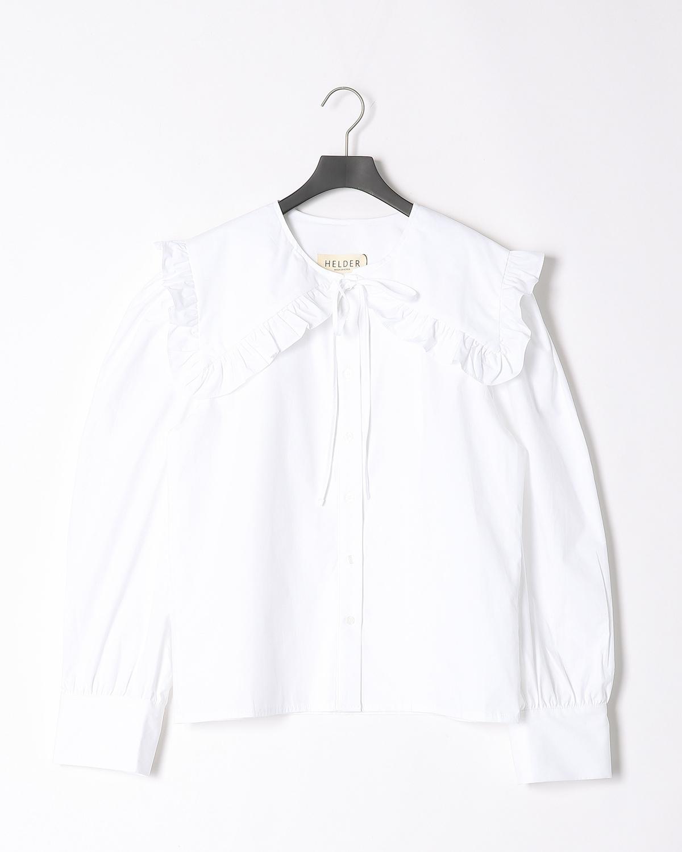 DRESドレス ピーターパンカラーブラウス/ホワイト