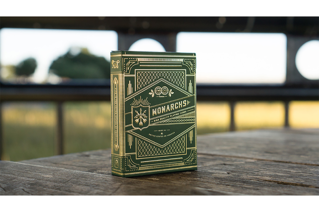 Monarchs Playing Cards (Green)