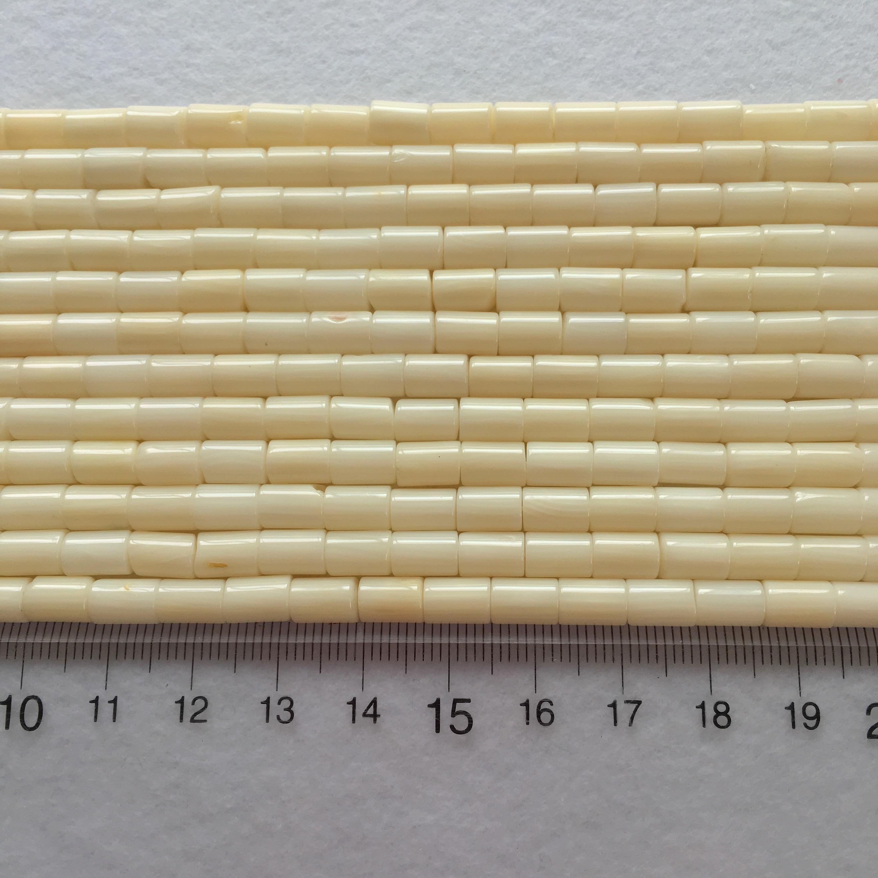 海竹 チューブ型 約7x5㎜ 連材【193526】