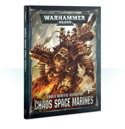 コデックス:ケイオススペースマリーン2 日本語版 CODEX: CHAOS SPACE MARINES2