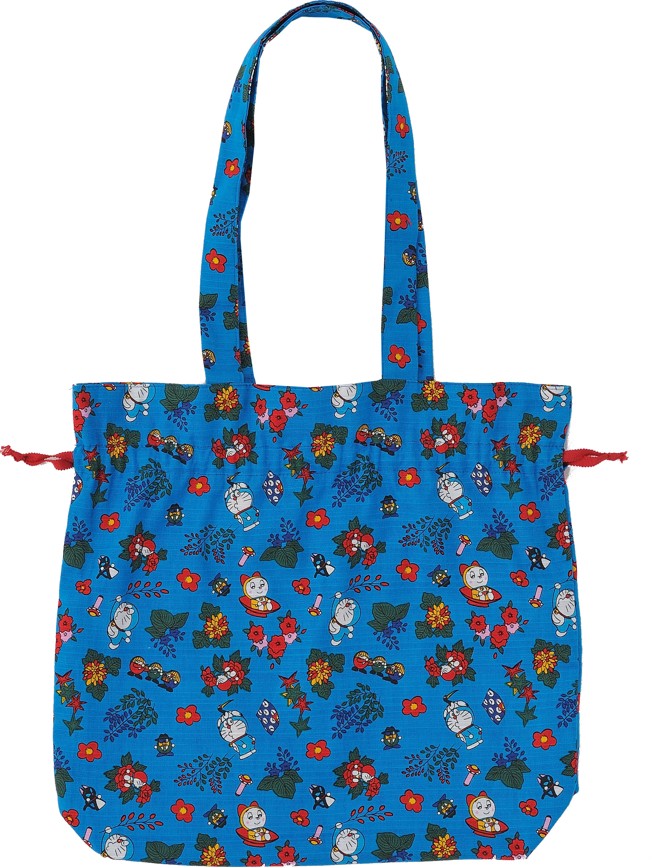 ドラえもん MADE IN JAPAN 雑貨 シリーズ  (2)日本製 巾着バッグ  /  エンスカイ