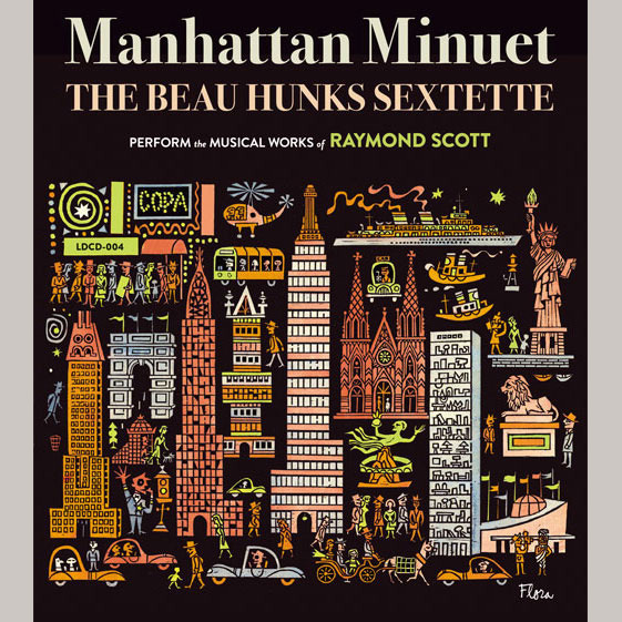 Manhattan Minuet / マンハッタン・メヌエット / The Beau Hunks Sextette