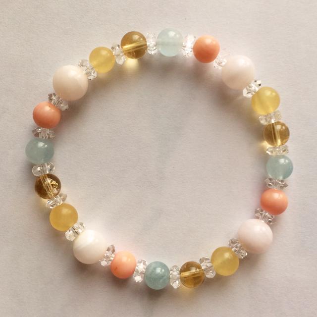 Arielle アリエル gemstone bracelet