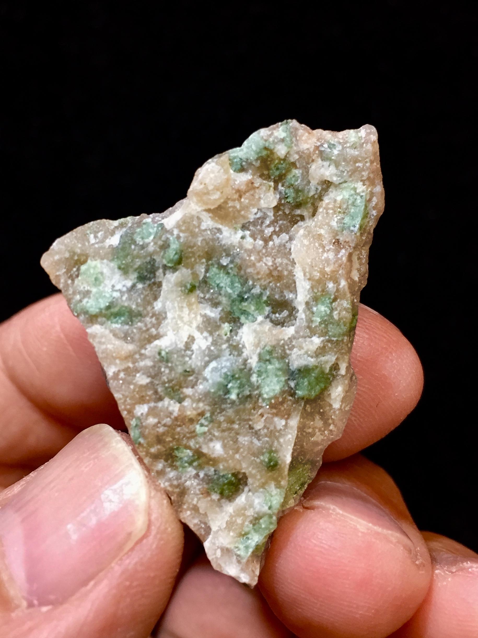 1) ナンドライト  原石