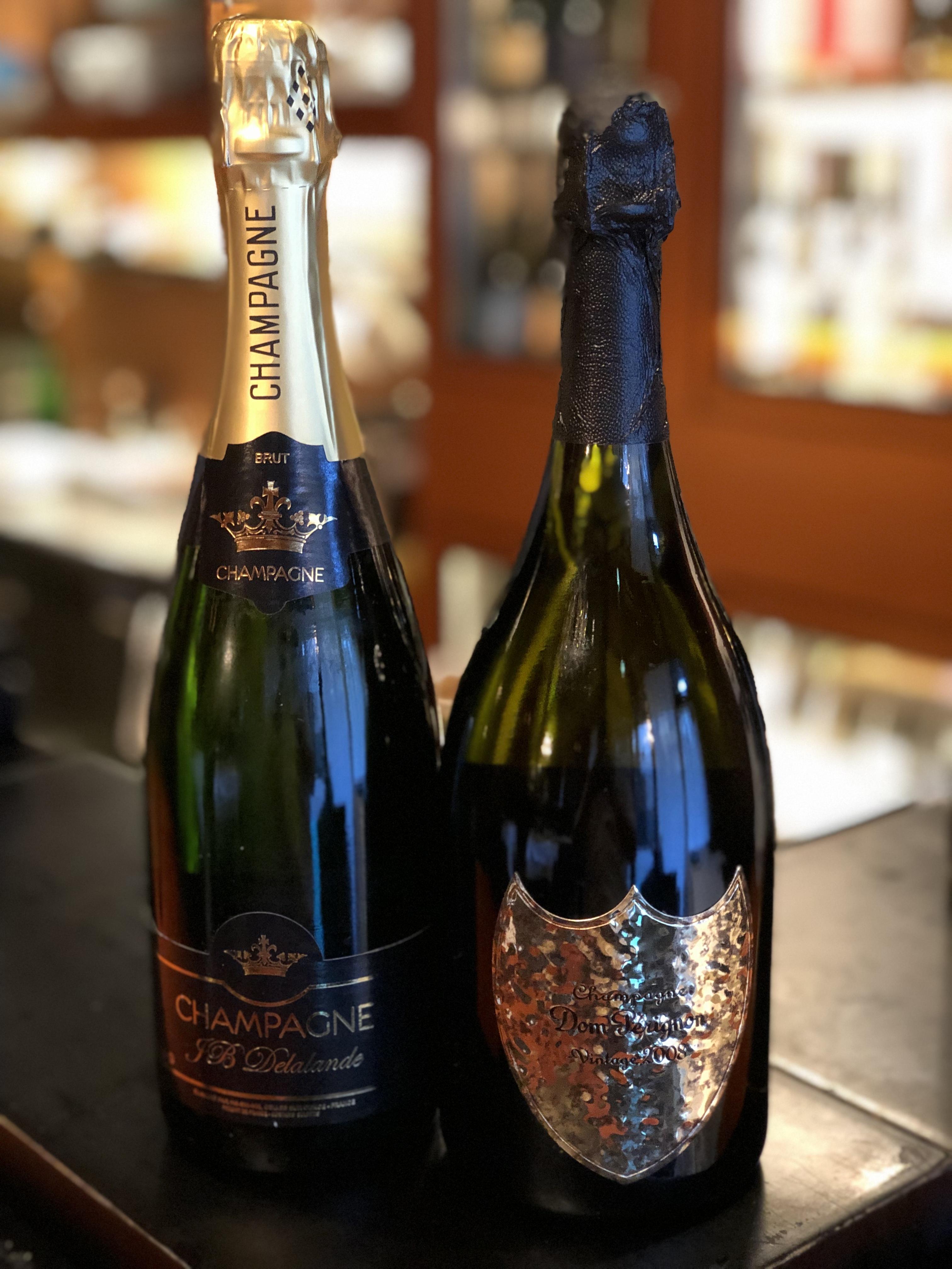 【数量限定】2008年ドン ペリニョン(レニー クラヴィッツボトル)とマノワのシャンパーニュセット(計2本)