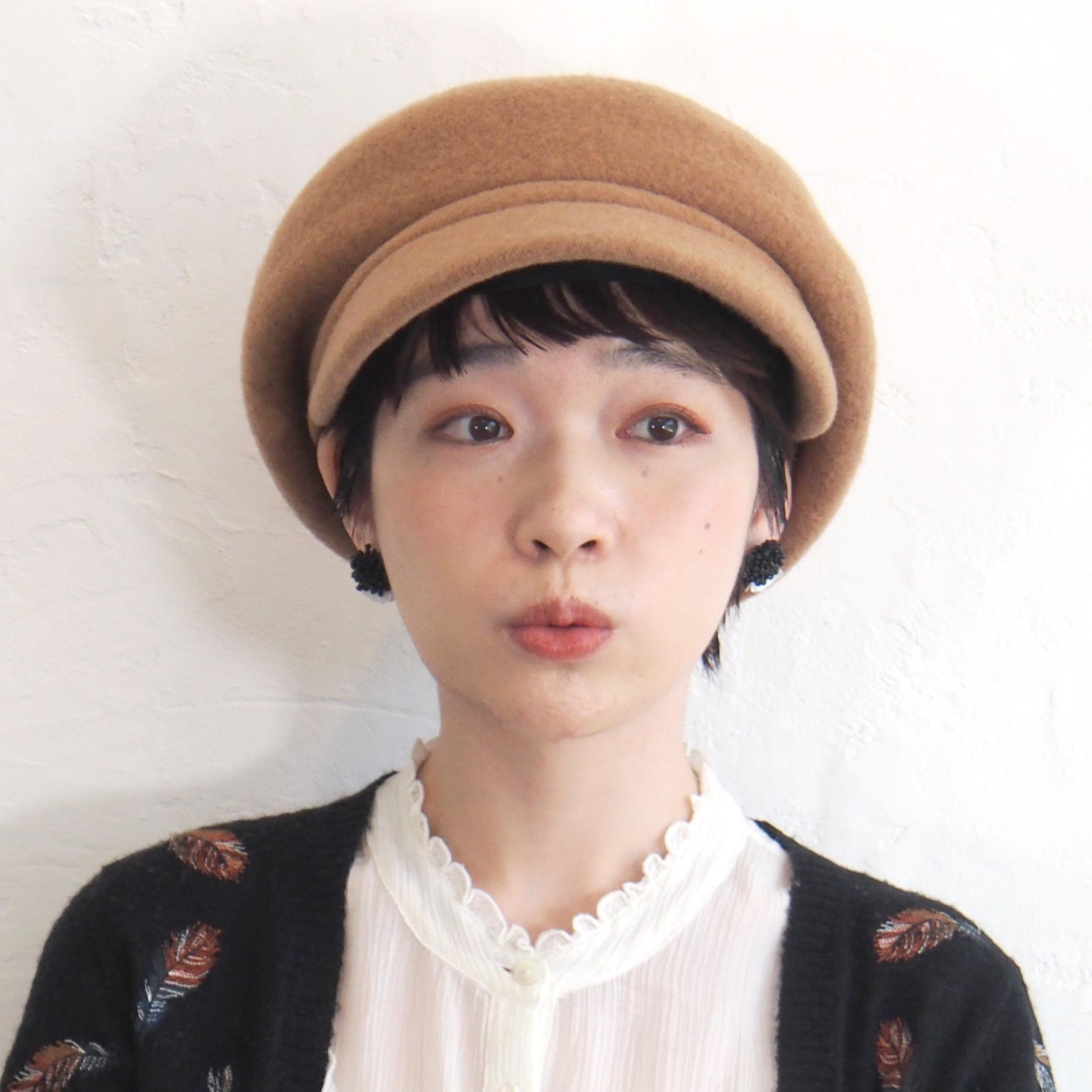 【BuLuKa(ブルカ)】バスクボリュームキャスケット 81-3304