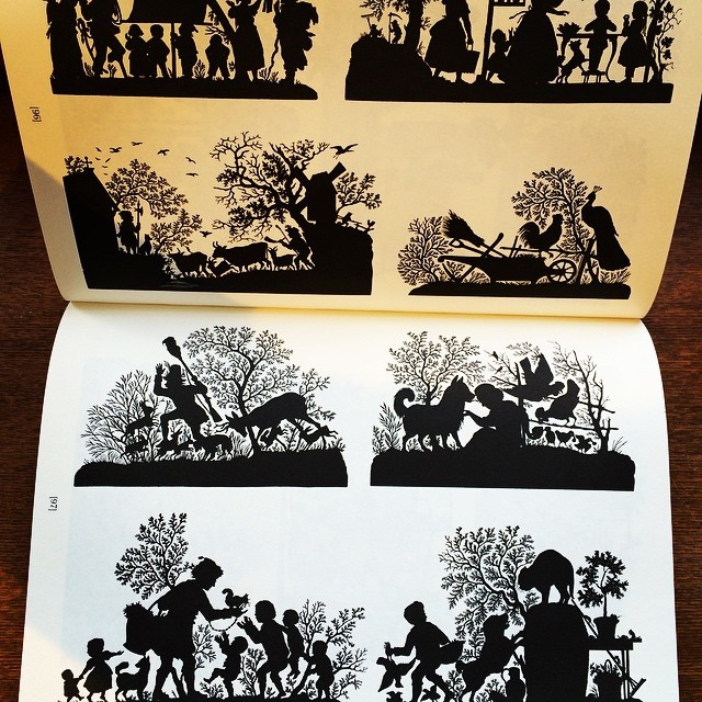 デザインの本「Silhouettes: A Pictorial Archive of Varied Illustrations」 - 画像2