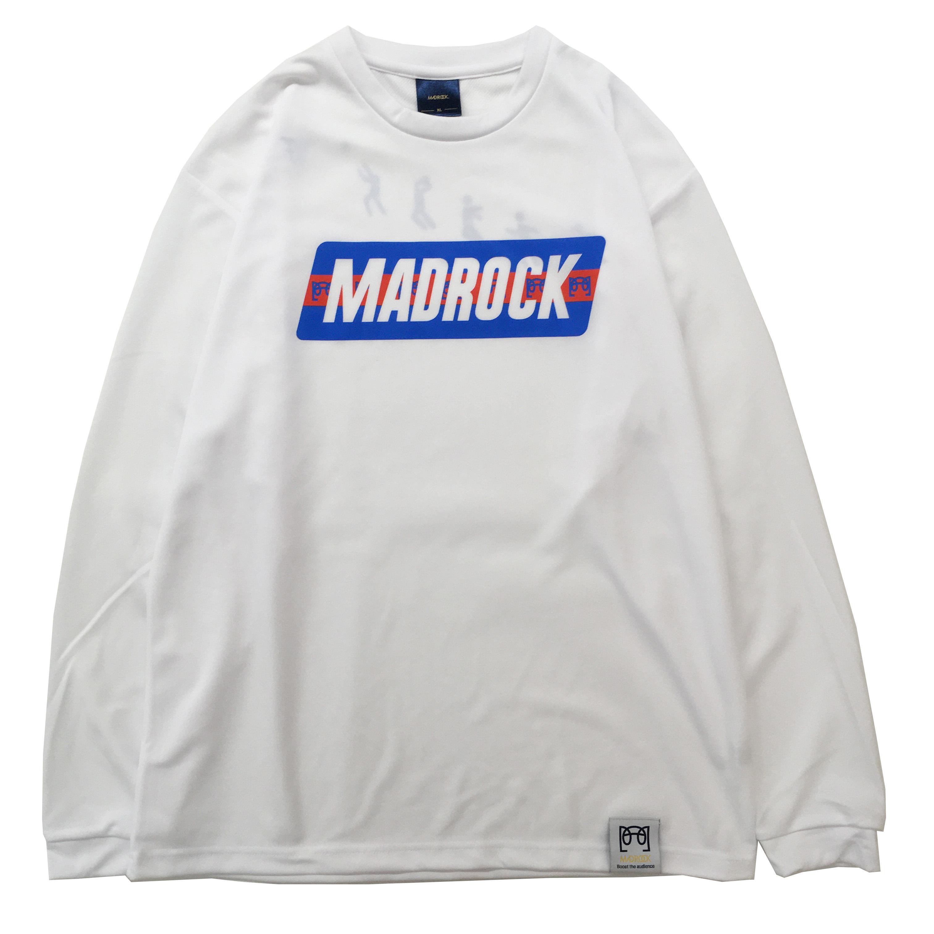 マッドロック - ブレインボール - ロンT / ドライタイプ / ホワイト / MADROCK  BrainBall  L/S TEE