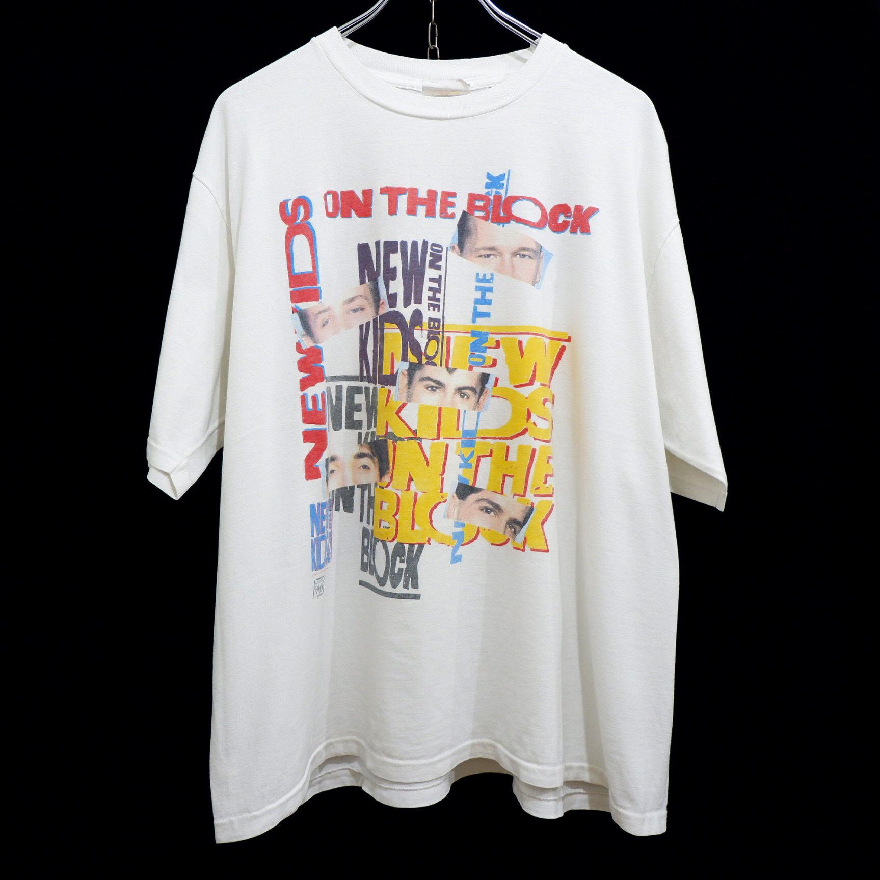 """アメリカ古着 1989s vintage """"NEW KIDS ON THE BLOCK"""" バンド T-シャツ"""
