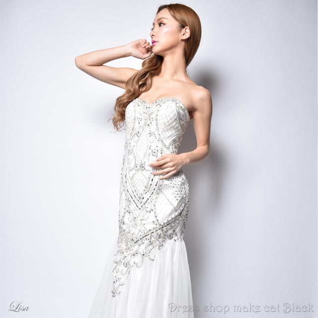(Sサイズ) 3色展開 ロングドレス パーティードレス 女子会 二次会 4750