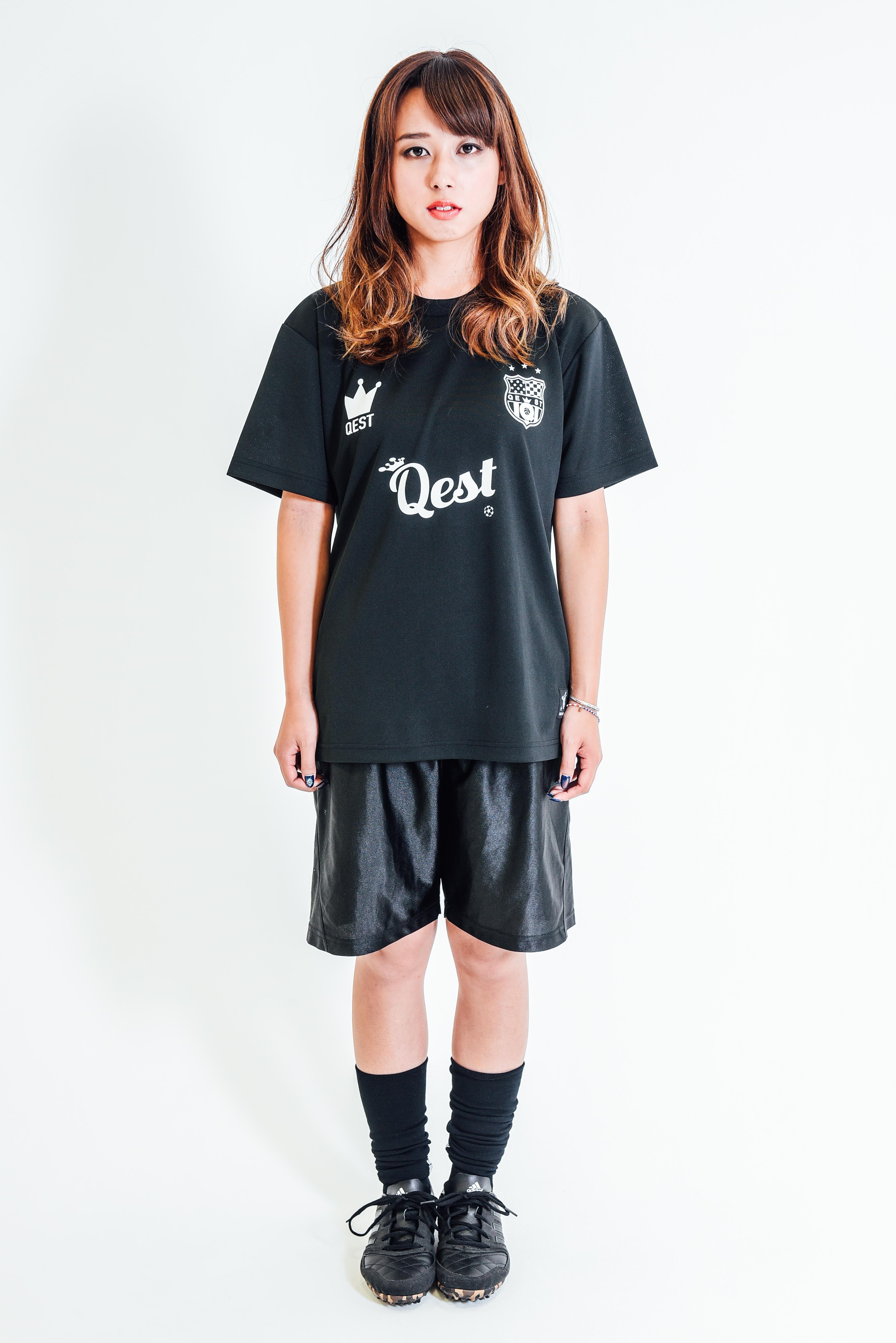 Qest Crown Practice Shirt / Black - 画像3
