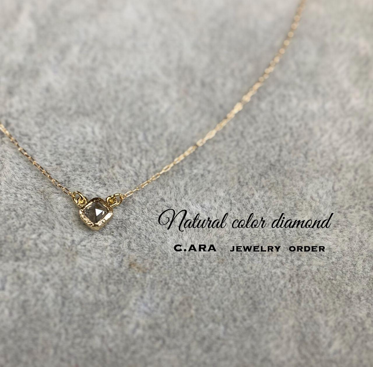 レスピーロ ダイヤモンドペンダント(ナチュラルカラー)